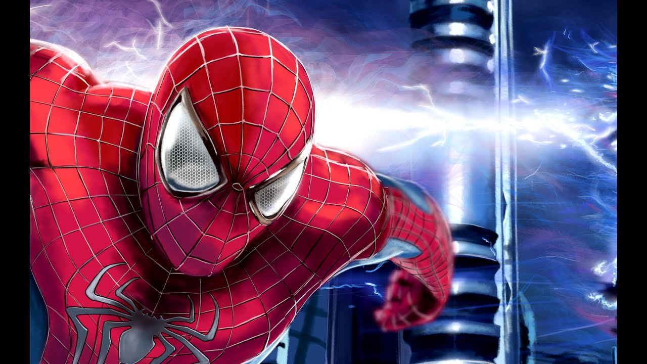 Speed Painting 23 The Amazing Spiderman 2 Youtube