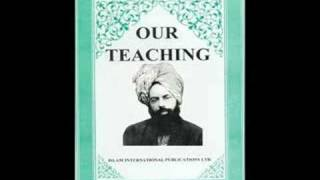 OUR TEACHINGS  (ENGLISH AUDIO BOOK) BY HADHRAT MIRZA GHULAM AHMAD (As)  PART 1/8