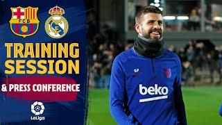 FULL STREAM: training session & Valverde press conference