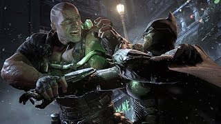 Arkham Origins - Bane Final Boss Fight (Hard/No Damage/No Hints)