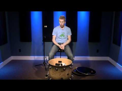 Tuning Your Bass Drum - Drum Lesson (DRUMEO)