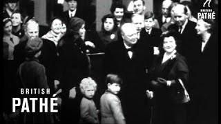 Selected Originals - Queen Mother Leaves For U.S. (1954)