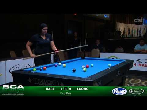 2017 BCAPL Nationals - Women's 8-Ball Singles Gold: Hart vs Luong