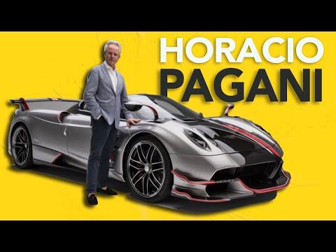 El Argentino que cre su propia marca de Autos Sper Deportivos! - Horacio Pagani