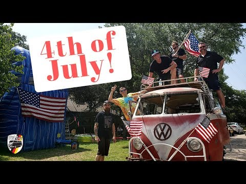 America and Volkswagens! Happy 4th of July