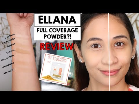 ELLANA Mineral Foundation Review and Swatches | Lolly Isabel