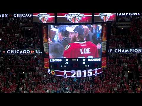 Blackhawks Win Stanley Cup 2015 from United Center