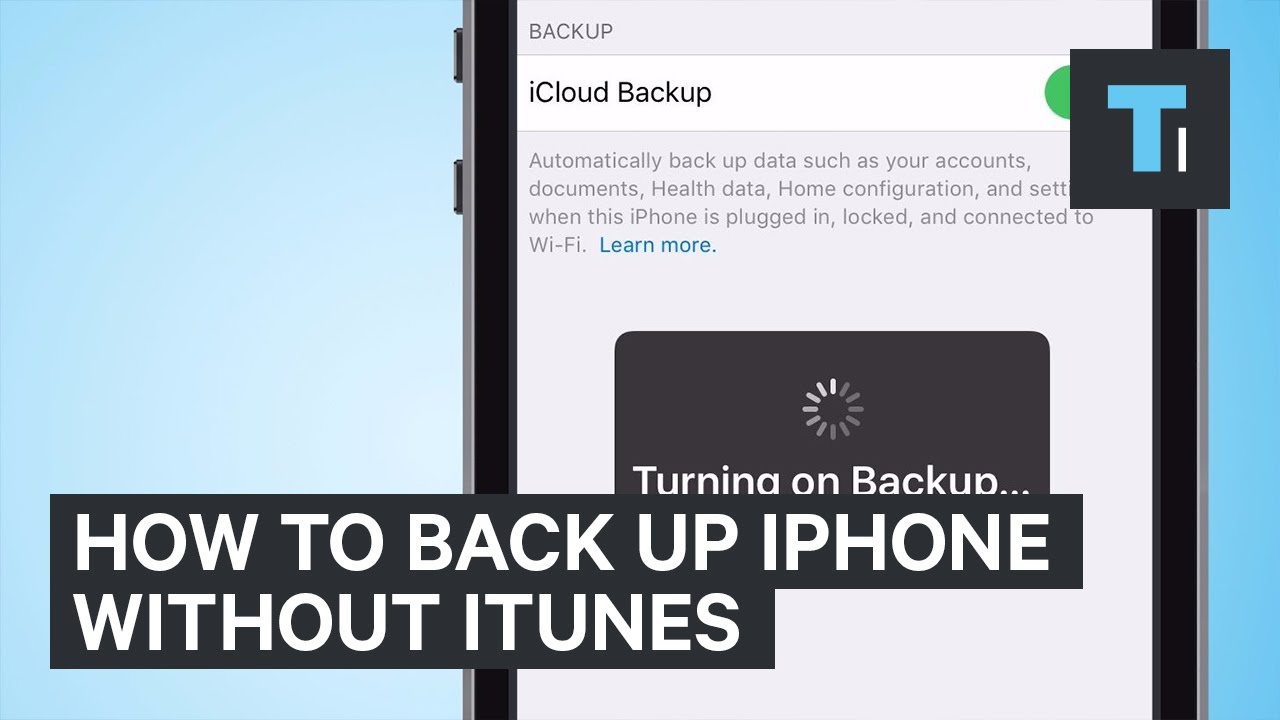 How To Back Up iPhone Without iTunes