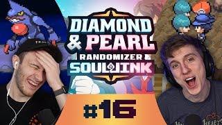 RYAN MADE A MISTAKE!   Pokemon Diamond and Pearl Randomized Soul Link Nuzlocke Part 16