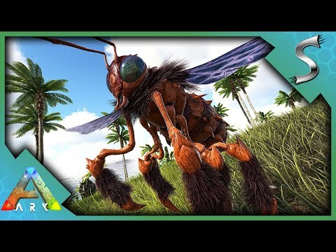 QUEEN BEE TAMING! HOW TO TAME + BEEHIVE! DRONE ARMY & HONEY FARM - Ark: Survival Evolved [S3E96]