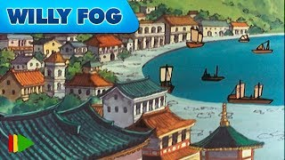 Вокруг света за 80 дней с Вилли Фогом - 14 - На пути в Йокогаму   Мультфильмы  