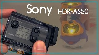Sony HDR-AS50 │ Action cam FullHD 1080p SteadyShot Wifi │Test - Avis - Review