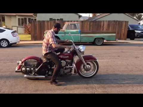 1949 EL Harley Davidson Panhead / Block Plane Studio