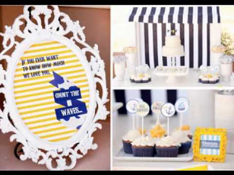 DIY Baby boy first birthday party themes ideas YouTube