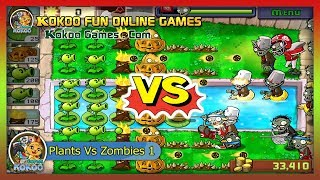 Plants Vs Zombies 1 - Last Stand Play Free Online Android/iOS iPad Gameplay ,!..