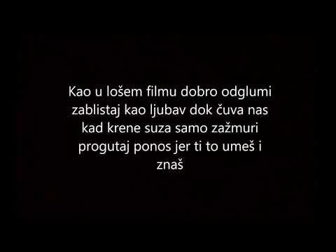 EMINA FEAT. ŽELJKO JOKSIMOVIĆ - DVA  AVIONA TEKST/LYRICS VIDEO 2018