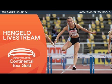 World Athletics Continental Tour Gold – FBK Games Hengelo | Livestream