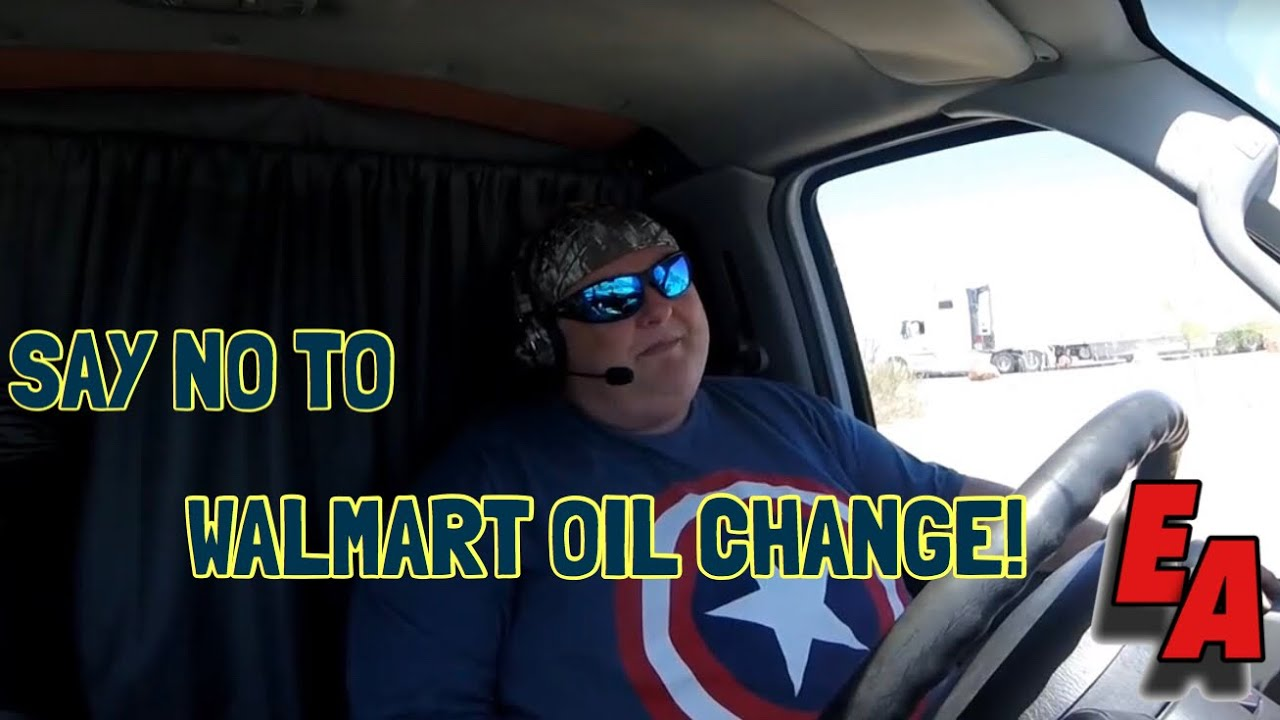 Expediting Walmart Oil Change Never Again Youtube