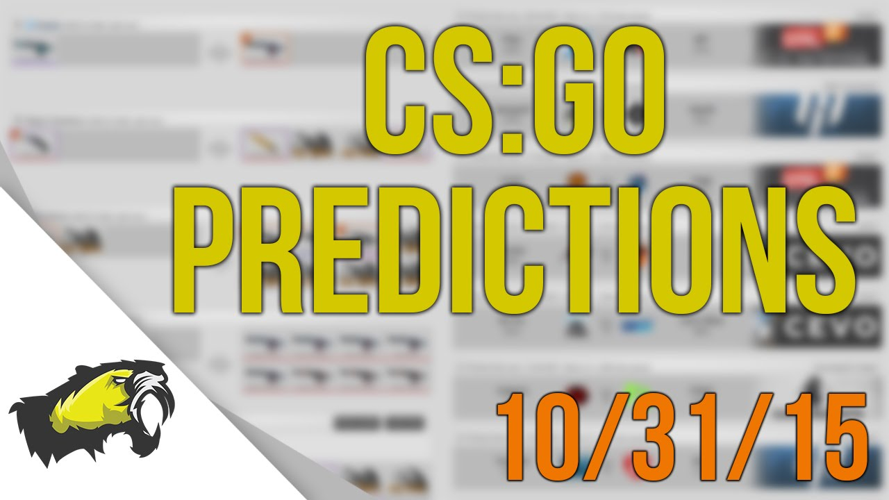 Chaos cs go betting predictions and tips hur farmar man bitcoins news