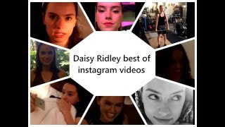 Daisy Ridley Best Instagram Videos