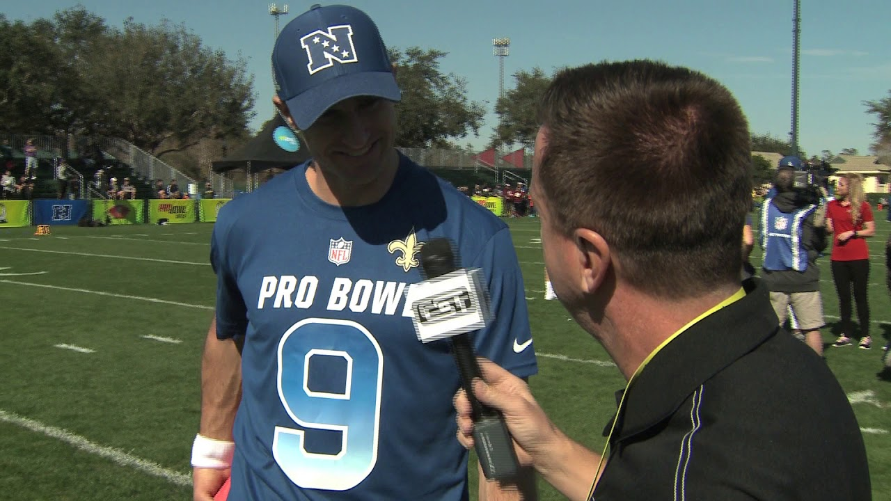 best service 6a85c 828e9 Saints Bring Extra Teammates to Pro Bowl, Courtesy of Drew Brees