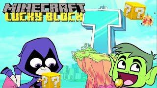 Minecraft - Teen Titans Tower - Lucky Block Race