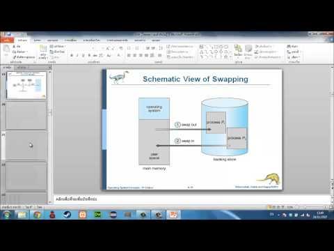 OS ระบบปฏิบัติการ แนวข้อสอบปลายภาค