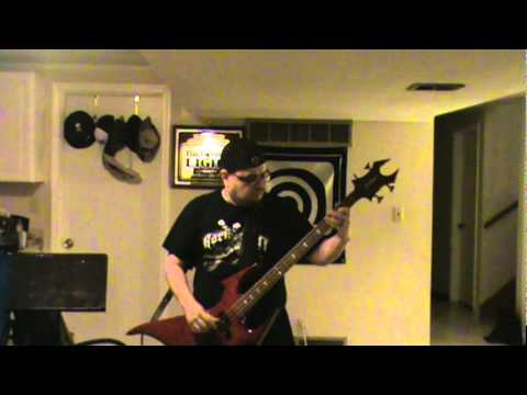 Seek and Destroy Bass Cover