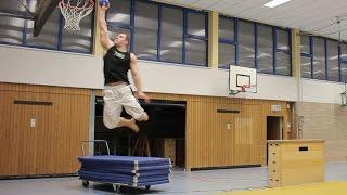 vuclip Sprungkraft Training - Tutorial für einen hohen Backflip oder Basketball Dunk