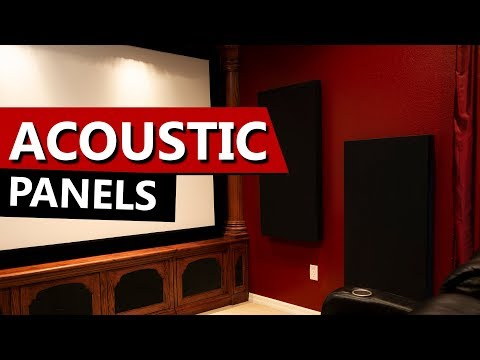 Home Theater Acoustic Panels - DIY (Do It Yourself) Room Treatments