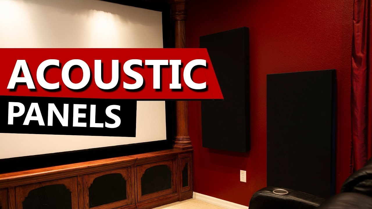 Home Theater Acoustic Panels Diy Do It Yourself Room Treatments