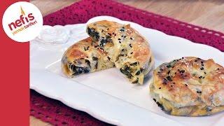 Ispanaklı Gül Böreği Tarifi | Börek Nasıl Yapılır?