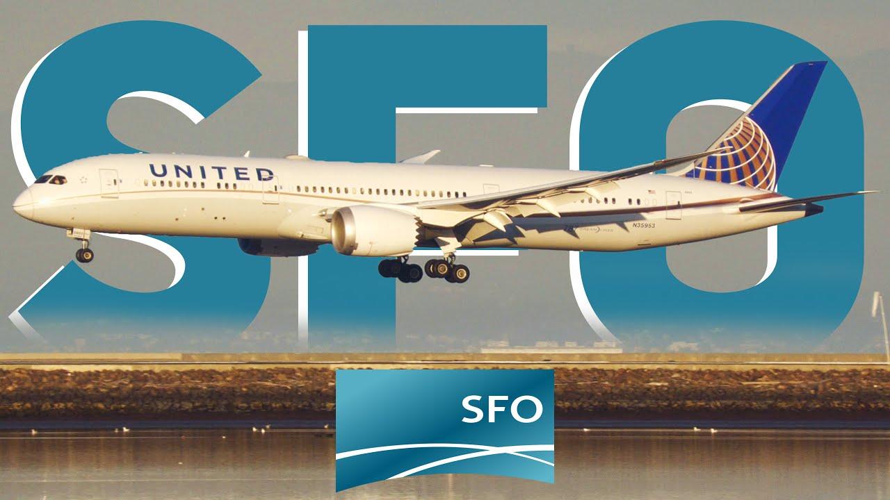 Download [4K] 35 MINUTES of Plane Spotting at San Francisco International Airport SFO/KSFO
