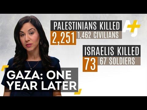 Gaza One Year After The War: Devastation Everywhere