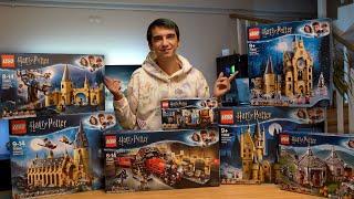 BÜTÜN Lego HARRY POTTER Setlerini Birleştirdim!