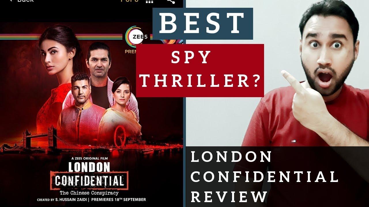 London Confidential Review   A ZEE5 Original Film   London Confidential Movie Review   Faheem Taj