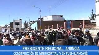 Gobierno Regional Puno - Visita a Distrito de Pusi