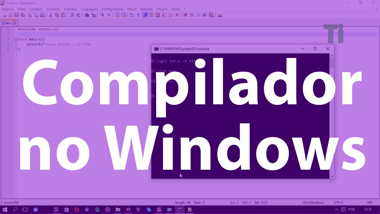 Como instalar e configurar o GCC no Windows (MinGW