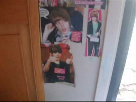 And i'm still not sure why Justin Bieber was in my room creeper. My Justin Bieber Room =). My Justin Bieber Room =)