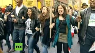 CUNY students arrested at protest