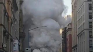 Explosion de vapeur à New York
