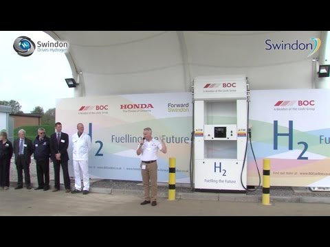 Hydrogen fuel is produced from sunlight in Swindon