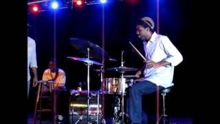 "Questlove tribute ""You got me"" by The Roots drum solo"