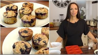 Healthy Banana & Blueberry Muffins | Family Breakfast for Shake Up Your Wake Up