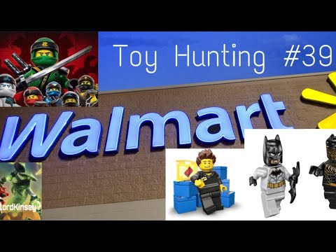 Toy Hunting #39 Walmart (New LEGO 2018 Sets + Black Panther Marvel ...