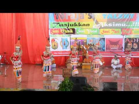 tradisional dancer toraja || tari kreasi tradisional toraja