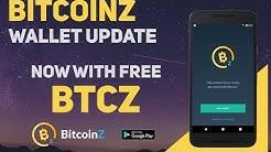 BitcoinZ Wallet Update - Get a little bit of free $BTCZ