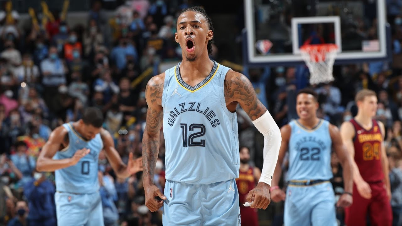 Ja Morant 37 Pts Chasedown and Lob 1st Game! 2021 NBA Season