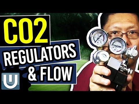 Aquarium Co2 Regulators and Flow - The Ultimate Aquarium Co2 Guide - Part 4