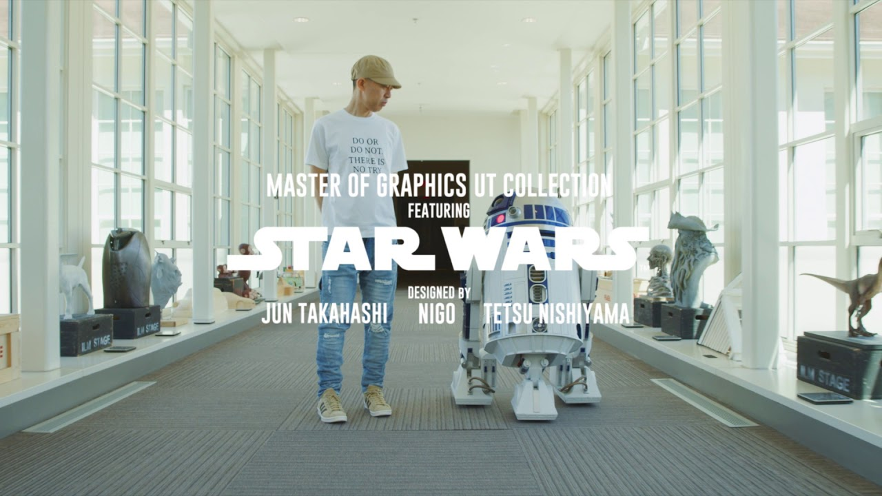344e7a20 UNIQLO Presents: Master of Graphics UT Featuring STAR WARS - YouTube